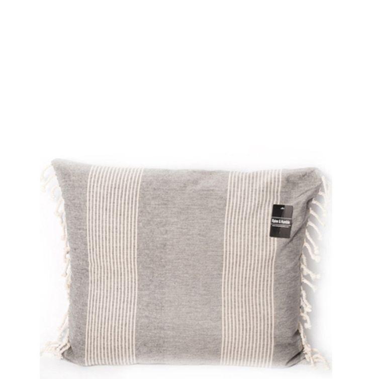 Taupe Colored Kumas Cushion