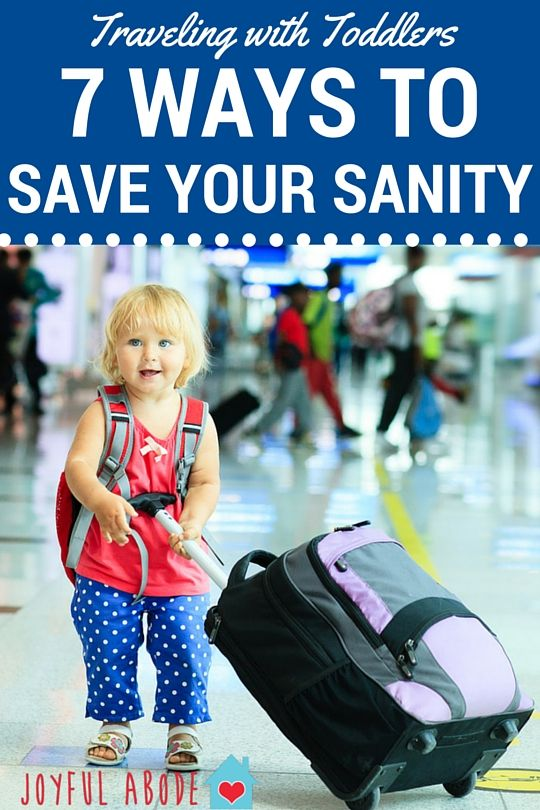 Traveling With Toddlers - 7 Ways to Save Your Sanity  - http://www.joyfulabode.com/traveling-with-toddlers-how-to-save-your-sanity/ After over 43 hours and 20,000 miles of flight time, I've finally found a system that works for us! Here how we keep a two-year-old happy and occupied on flights, whether they're one hour or twelve hours long!
