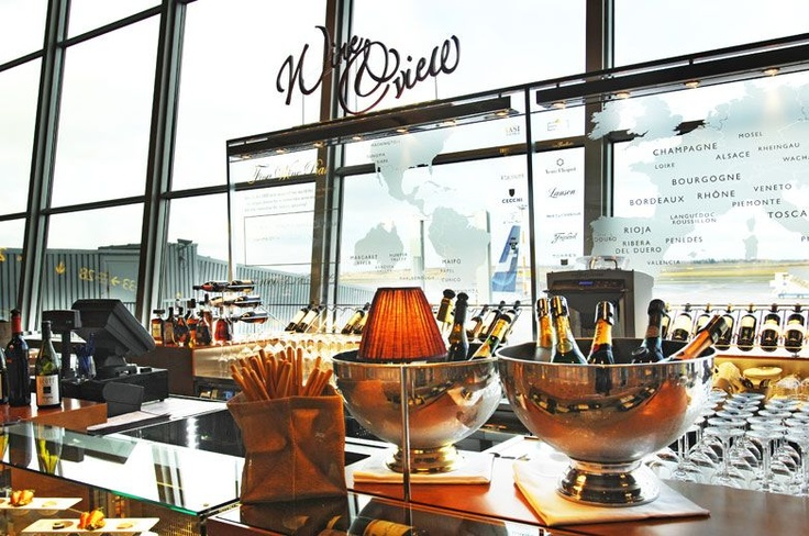 Wine & View: A fine wine bar in Helsinki airport. If you're feeling thirsty for some fine juice you can taste such wines like Pétrus 1975, Romanée-Conti 1978 or vintage port from 1864. Oh, and did I mention that they offer them by the glass!