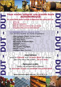 C2 - Service des Concours Agronomiques et Vétérinaires