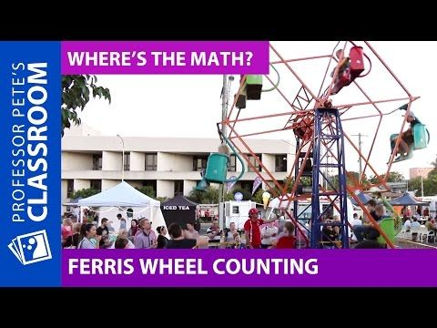 Where's the Math #21 for Grades 2-3: Ferris Wheel Counting
