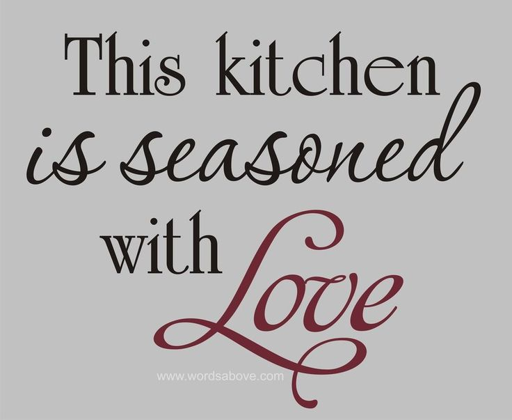 Cute Sayings For Kitchen Walls