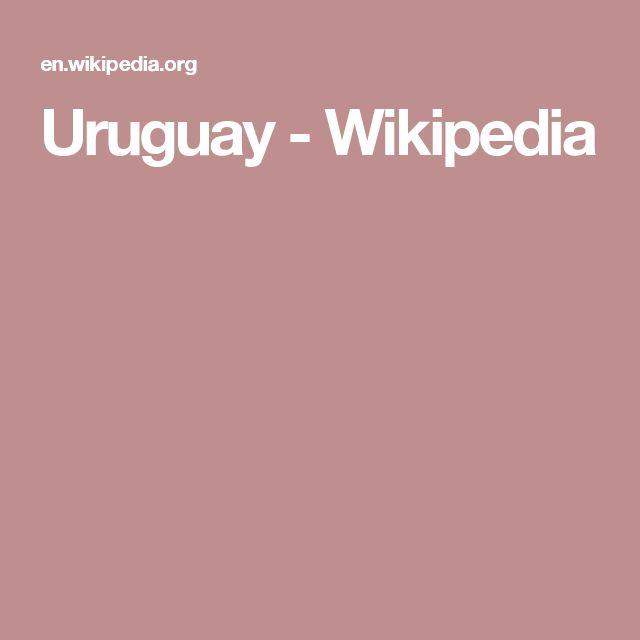 Uruguay - Wikipedia