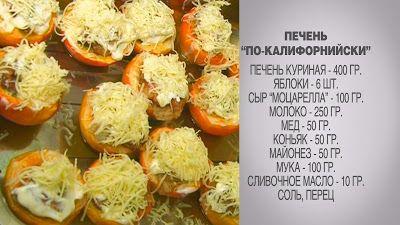 Вкусные домашние рецепты: Куриная печень / Куриная печень рецепты / Куриная ...