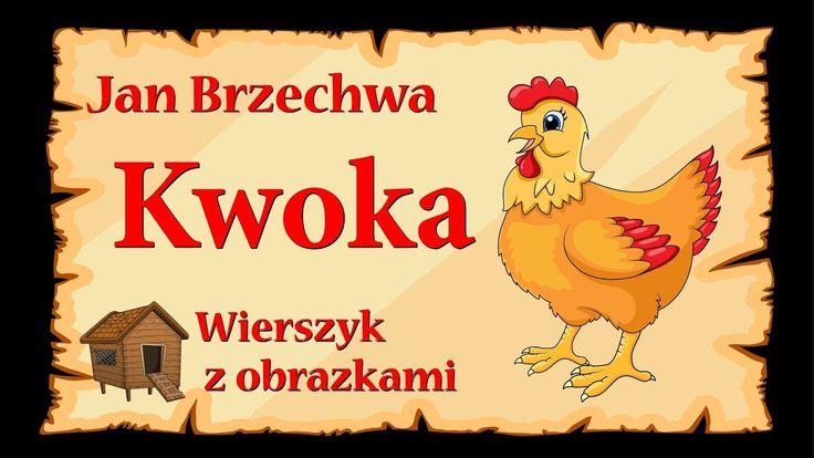 Kwoka - Jan Brzechwa - animowany wierszyk z obrazkami