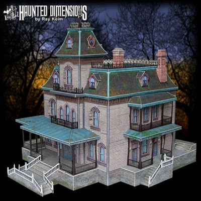 This is so awesome... DIY cutout kits to build your own paper Haunted Mansion at home!!! http://disneyhispana.blogspot.com/2013/01/juego-de-disney-recortable.html