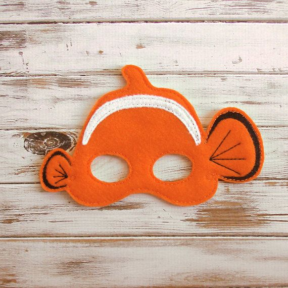 One of his flippers may be a little smaller than the other, but this little clown fish is still ready for adventures! Your little guppy will look