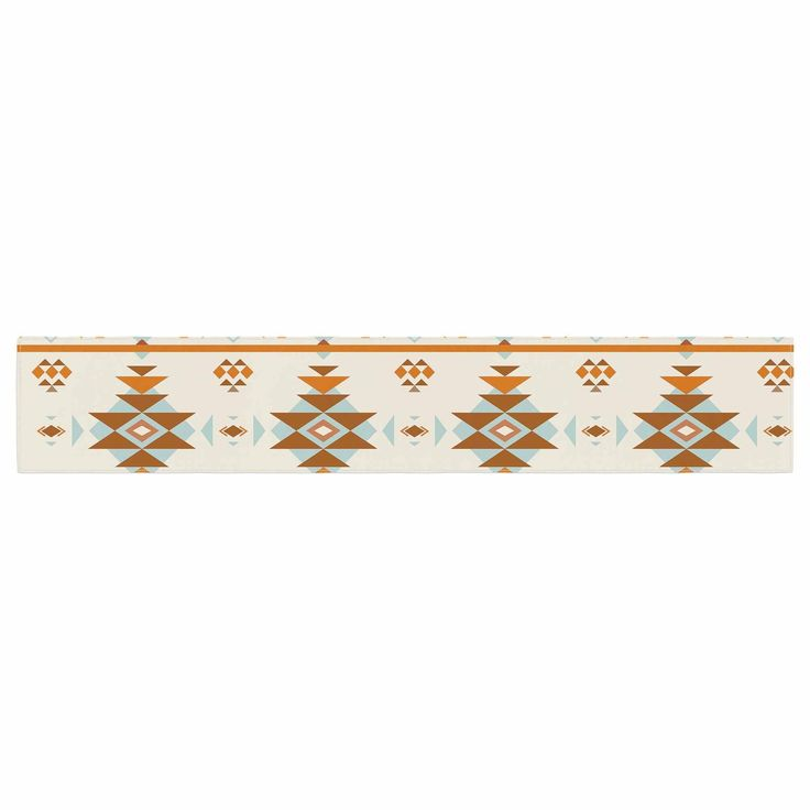 afe images Southwestern Table Runner from KESS InHouse.