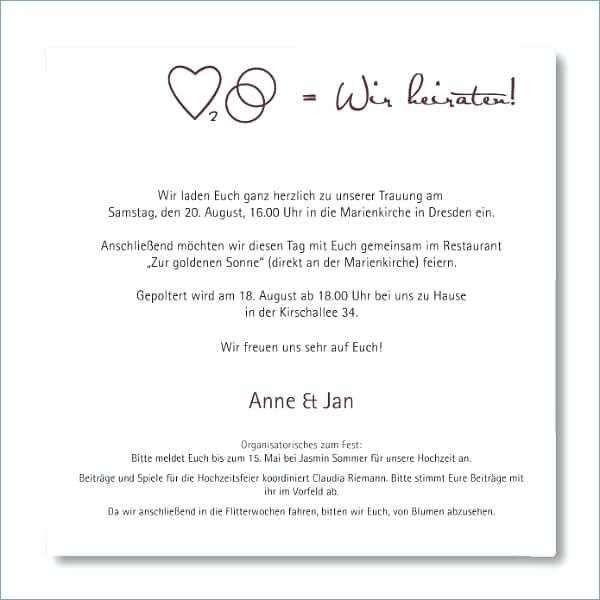 Einladung Zivile Hochzeit Luxus Einladung Zivile Hochzeit Vorlaufige In 2020 Hochzeitskarten Einladung Karte Hochzeit Einladung Text
