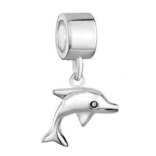Pugster 925 Sterling Silver Animal Dolphin Dangle Jewelry Gift Beads Fits Pandora Charm Bracelet Pugster. $24.49. Free Jewerly Box. Fit Pandora, Biagi, and Chamilia Charm Bead Bracelets. .925 sterling silver. Money-back Satisfaction Guarantee. Unthreaded European story bracelet design