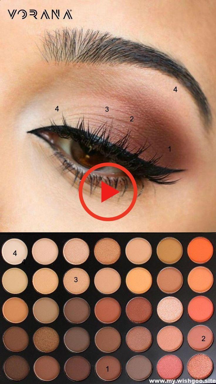 simple eye makeup tips for beginners who .. #eyeshadow #eyemakeup