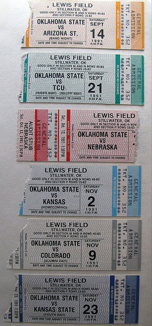 my season ticket year: 0-10-1
