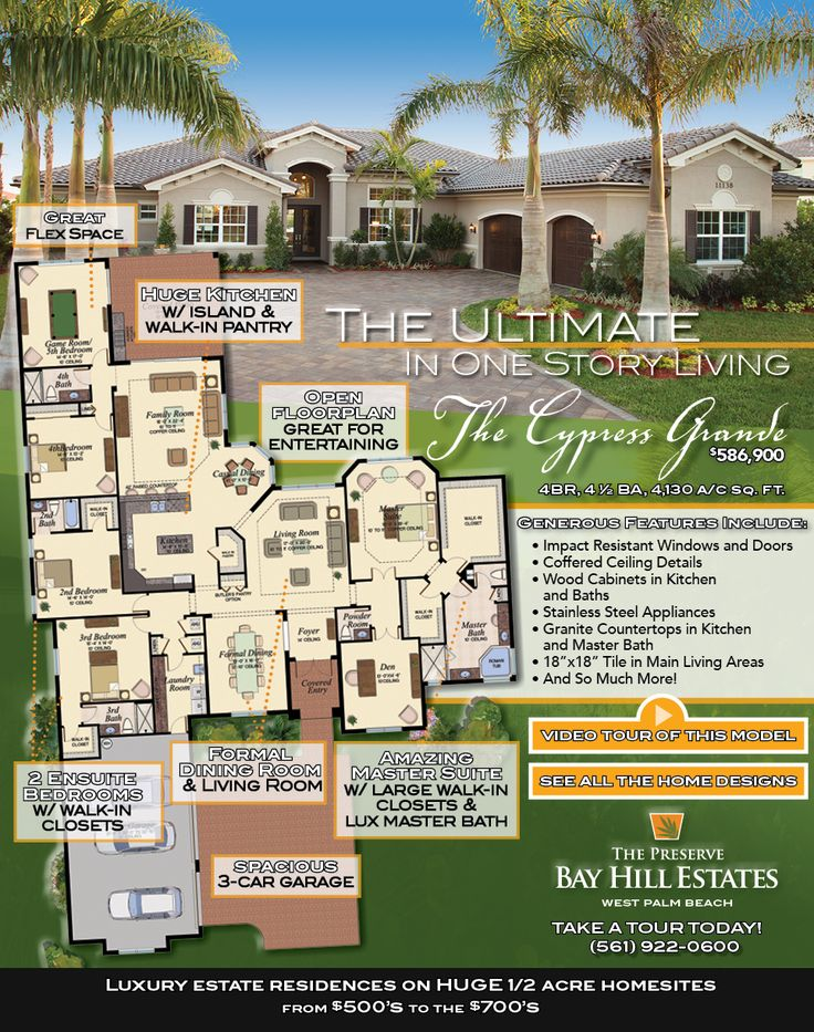 82 best florida homes favorite floorplans images on for Bay to beach builders floor plans
