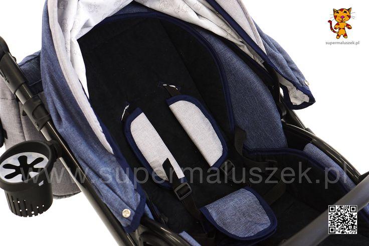 Volg 3w1 nowoczesny wózek z żelowymi kołami, z lekkim stelażem i bardzo modnym wyglądem. Polecamy ten model, jest bardzo dobry. #wozek #dziecko #rodzice #baby #stroller #supermaluszek.pl