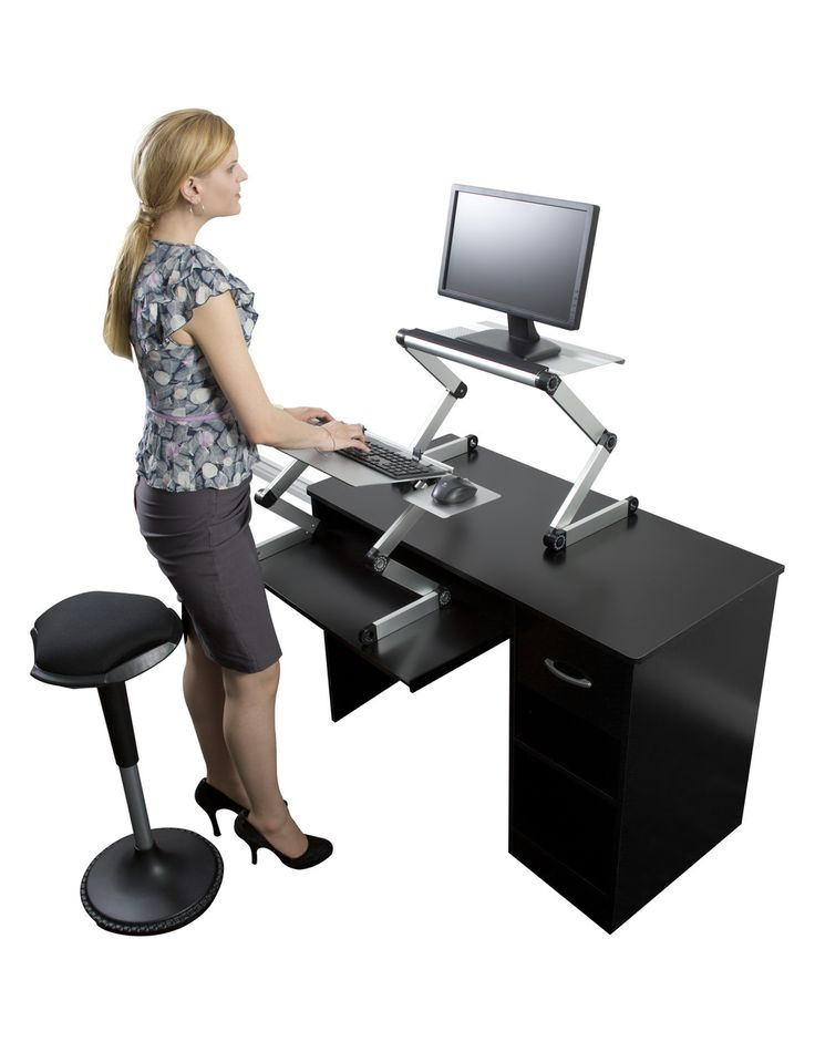 21 best Stand Up Desk Ideas images on Pinterest Desk ideas