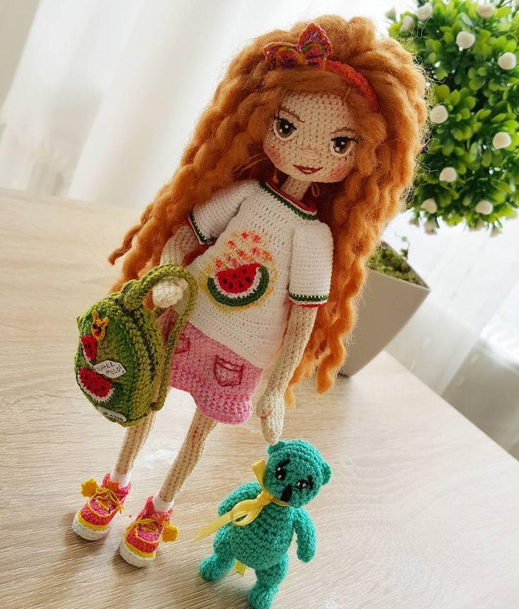 Merhaba bu bebeğim 20cm çantası ve Ayicigi ile birlikte gideceği huzurlu bir yuva arıyor ilgilenenlere duyurulur. ..#bukebebek