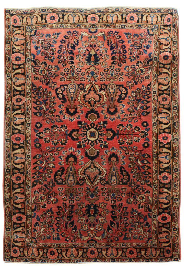 Cod. 10348 Saruk Antico 149x100 tappeto persiano antique rug