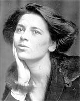 """Novelist, journalist, critic, and feminist, Rebecca West (1892-1983). She was an outspoken feminist and mistress of H.G. Wells, but also as the prolific author of novels. By 1947, West was featured on the cover of Time and hailed as """"indisputably the world's No. 1 woman writer."""""""