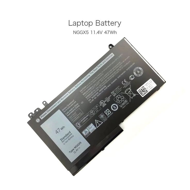 44.57$  Buy now - http://aliein.shopchina.info/1/go.php?t=32813286766 - 11.4V 47Wh Laptop Batttery for DELL Latitude 12 E5270 NGGX5 RDRH9 Computer  #magazine