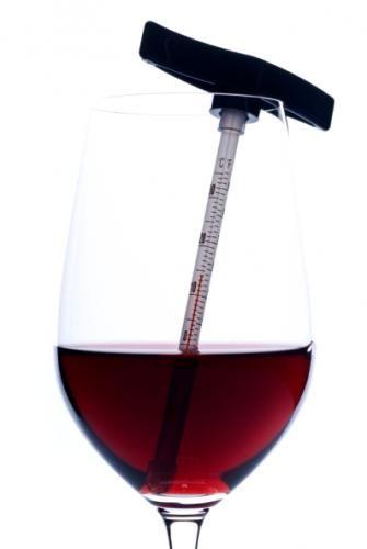 red wine temperature