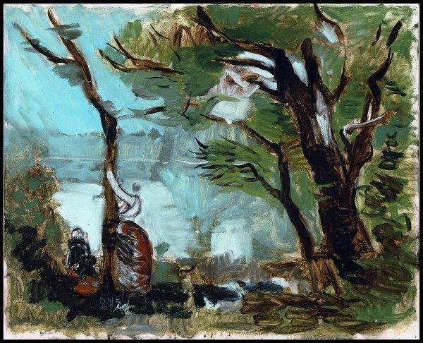 Ausstellung Koeln Markus Lüpertz. Landschaften