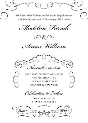 16 best Letterpress Wedding Stationary images on Pinterest - invitation letters