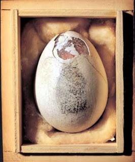 Piero Manzoni, 'Egg with Thumbprint'  http://www.artexperiencenyc.com/social_login/
