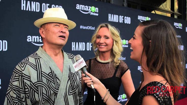 Interview w/Cary-Hiroyuki Tagawa @CHTOfficial at Premiere of @HandOfGodAmazon #HandofGod & talking his #ManintheHighCastle on #AmazonPrime