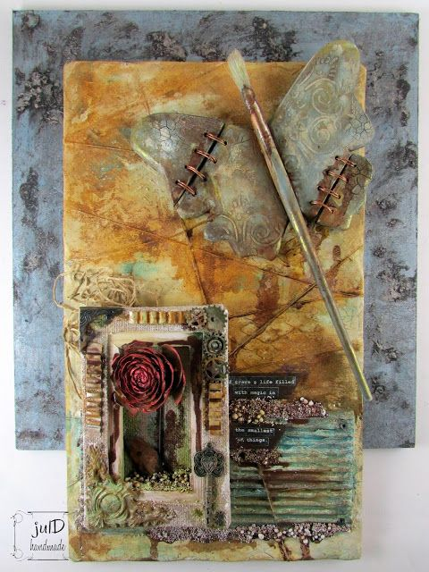 http://juldhandmade.blogspot.ie/2017/02/rusted-butterfly.html