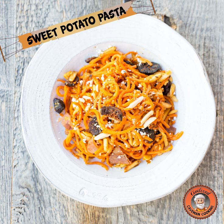 Weekly Meal Plan (03/13/2015): Sweet Potato Pasta with Figs, Prosciutto and Goat Cheese | Civilized Caveman Cooking Weekly Meal Plan