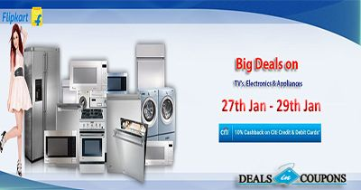 Enjoy Electronics Sale Offer - Upto 60%  Discount