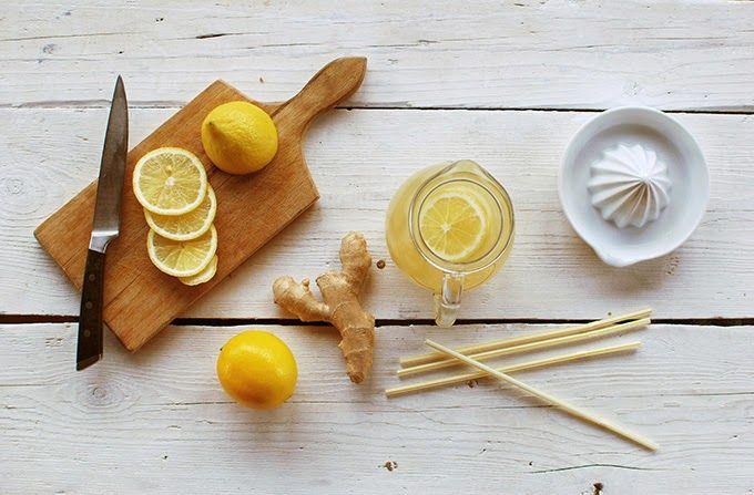 FoodLover: Zázvorová limonáda s medem