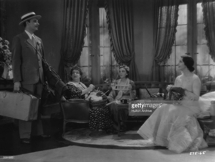 Alfred Lunt (1892 - 1977), Lynn Fontanne (1887 - 1983) and Zasu Pitts (1898 - 1963) star in the farce 'The Guardsman', adapted from the play by Ferenc Molnar. The film was directed by Sydney Franklin for MGM.