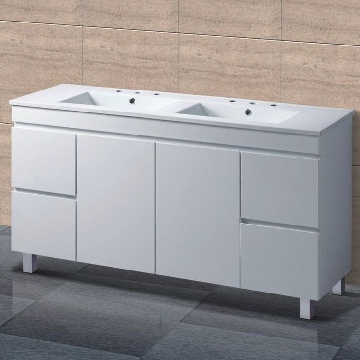 Monaco 1500 mm Fingerpull Vanity Unit on Legs | Acqua Bathrooms