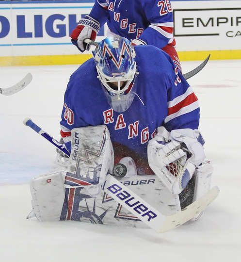 New York New York September 26 Henrik Lundqvist 30 Of The New
