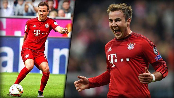 """Selbst der neue Bayern-Trainer Carlo Ancelotti rät Mario Götze laut """"SZ"""" zu einem Wechsel. Die Bayern wollen ihn abschieben. Wir zeigen Götzes geilste Bayern-Buden aus drei Jahren Bundesliga!"""