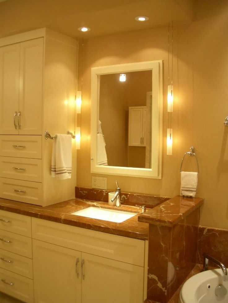 best lighting for small bathroom | Small Bathroom Ideas – Lighting For Small Bathroom : Beauty Lighting ...