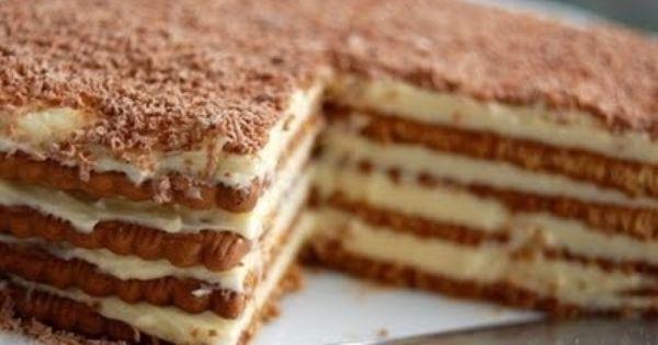 Gâteau aux petits-beurres parfum café super bon .. le Dessert de mon enfance on faisait Avec maman