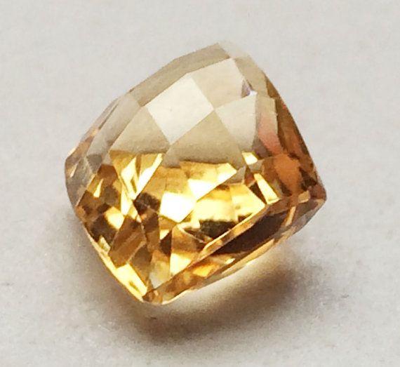 Citrine Cut Stone Lot Fancy Diamond Shape Faceted by gemsforjewels