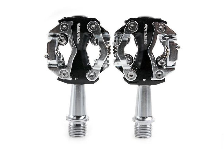 ZeRay Cycling Road Bike MTB Pedals ZP-108S SPD Compatible Clipless Pedals