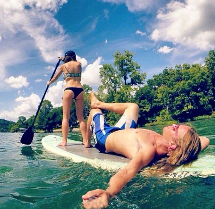 Summertime on a SUP ATX paddle board!  Live the life.  www.SUPATX.com  #supatx #paddleboard #sup
