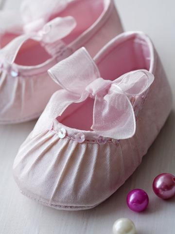 Christening shoes.