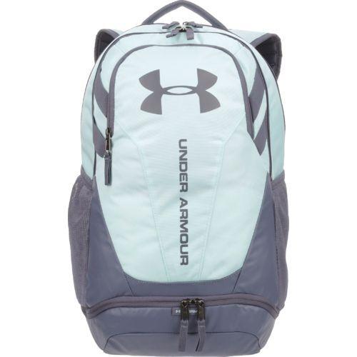 Under Armour Hustle II Backpack Blue/Light Blue - Backpacks at Academy Sports