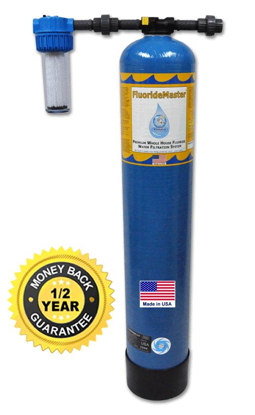 vitasalus whole house fluoride water filtration system