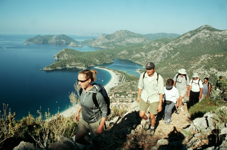 Walking the Lycian Way in Turkey, rated one of the world's best footpaths - breathtaking views, superb swimming and amazing archaeology