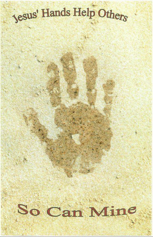 Bible Class Creations: Handprint Crafts
