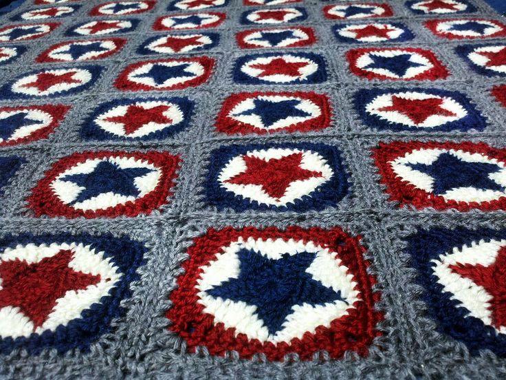 40 Best Patriotic Crochet Patterns Images On Pinterest Knit