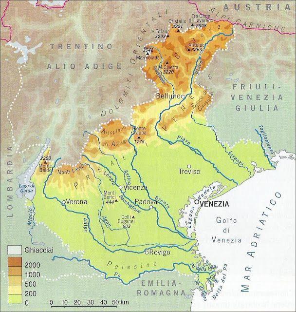 Cartina Fisico Politica Veneto.Risultati Immagini Per Cartina Veneto Fisica Immagini Lago Fisico