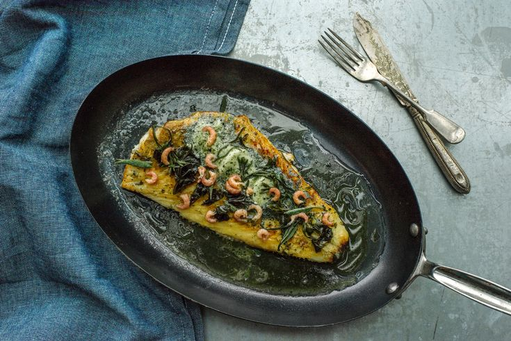 Tom Kitchin recipe: Whole Roasted Plaice with Seaweed Butter - Scotsman Food and Drink