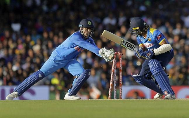 MS Dhoni equals Kumar Sangakkara's record for most stumpings in ODIs - India Today #757Live